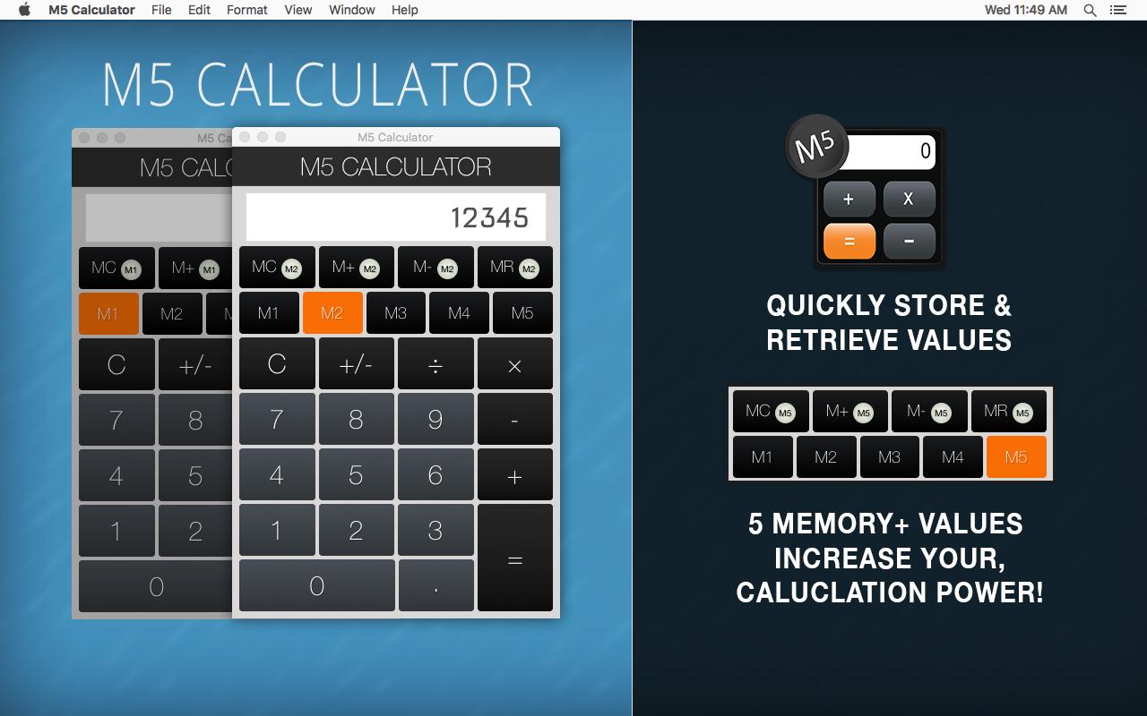 M5-Calculator-1  - Mac OSX App