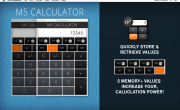M5-Calculator-The Awesome Simple Everyday Memory Calculator-1 - Mac OSX App