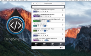 DropSnippets - Menubar Code Snippet & Note Manager - OSX Menubar App -4